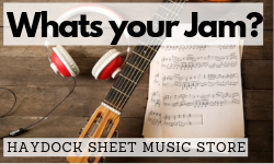 Haydock Music Sheet Music Shop