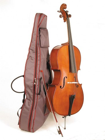 Stentor 1108F Student II 1/4 Size (Quarter Size) Cello Outfit