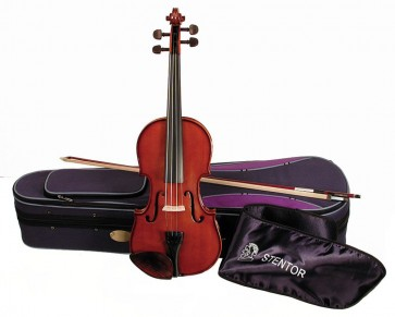 Stentor 1400C Student I 3/4 Size (Three Quarter Size) Violin Outfit