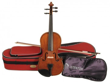 Stentor 1500C Student II 3/4 Size (Three Quarter Size) Violin Outfit