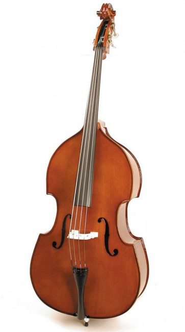 Stentor 1950F Student  1/4 Size (Quarter Size) Double Bass Outfit