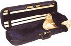 Concertante AC006/7/8 4/4 Size (Full Size) Black Viola Case with Navy Interior