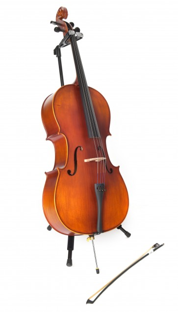Cadenza Quarter Size Cello on Stand