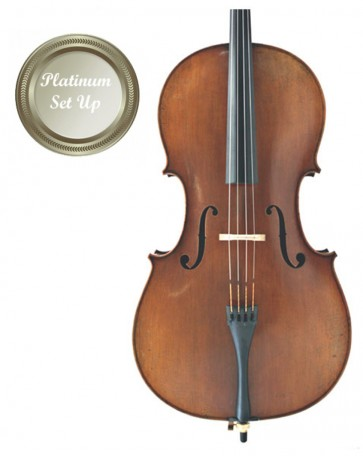 The Sound Post CI015-44-P Eastman Master Series Montagnana 4/4 Size (Full Size) Cello with Platinum Set-Up