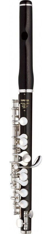 Yamaha YPC-62 Covered Keywork Grenadilla body Piccolo