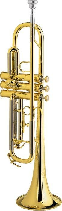 Besson BE110-1-0 1000 Series Lacquer Bb Trumpet