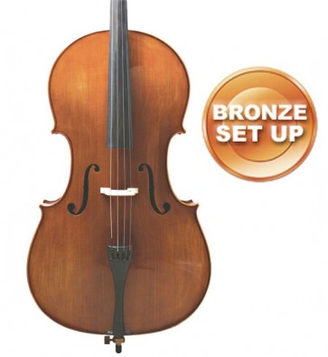 The Sound Post CF015N-16-B Primavera 90 Cello 1/16 (Sixteenth Size) Size Outfit with Bronze Set-up