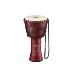 "Meinl PADJ1-L-F Rope Tuned Travel Series 12"" Pharaoh's Script Djembe - Synthetic Head"