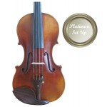 Guarneri VI011-44-P Heritage 4/4 Size (Full Size) Violin Outfit with Platinum Set-up