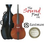 The Sound Post CI015-0-44-P Eastman Master Series Montagnana 4/4 Size (Full Size) Cello Outfit with Platinum Set-Up