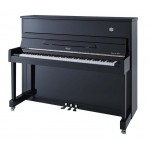 Irlmer Upright Supreme Piano - P118 in Polished Ebony