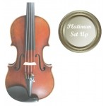 Stradivari VI027-0-44-P Eastman Master 4/4 Size(Full Size) Violin Outfit with Platinum Set-up