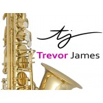 "Trevor James 3825GB II ""Brooklyn""  Tenor Saxophone in Gold Lacquer in Backpack Case"