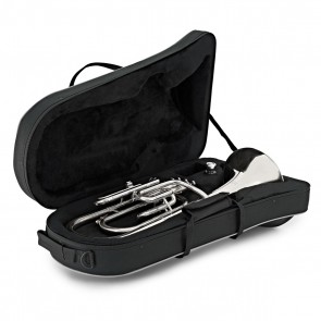 Elkhart 100THS Eb Tenor Horn Outfit Silverplate