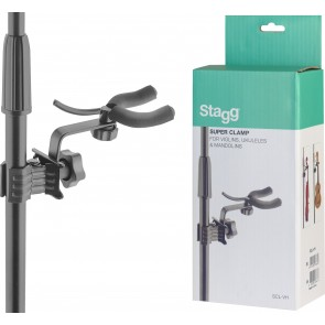 Stagg SCL-VH Uke-Violin Holder with clamp
