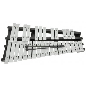 MIDAS 30 Note Foldable Chromatic Glockenspiel Inc Case