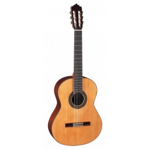 Paco Castillo 202 - 7/8 Canadian Red Cedar Seven Eights Size Classical Guitar with Gloss Finish