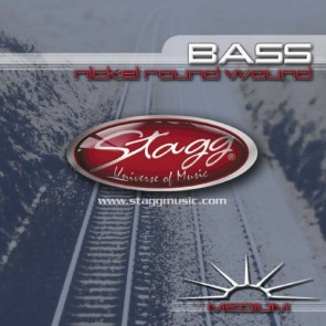 Stagg BA-4505 Medium Gauge (.045-.105) Strings for Bass Guitar