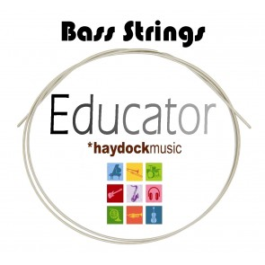 Educator EDBA4 100 Gauge Bass Steel E (4th) Guitar String