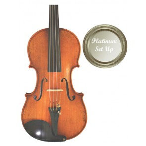 Guarneri VI030-0-44-P Eastman Master 4/4 Size (Full Size) Violin Outfit with Platinum Set-up