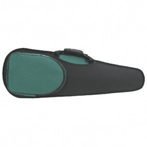GSJ VC169 4/4 (Full Size) Styro Shaped Violin Case Black/Green