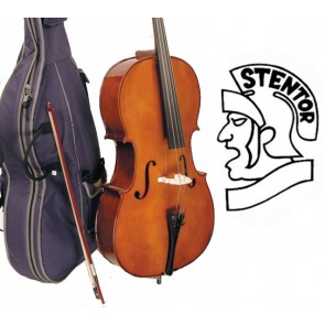 Stentor 1108C Student II 3/4 Size (Three Quarter Size) Cello Outfit