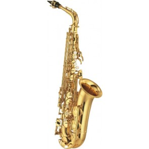 Yamaha YAS-480 Gold Lacquer Alto Saxophone Outfit