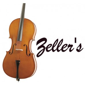 Zeller 1350A Student Full Size (4/4 Size) Cello (Instrument only)