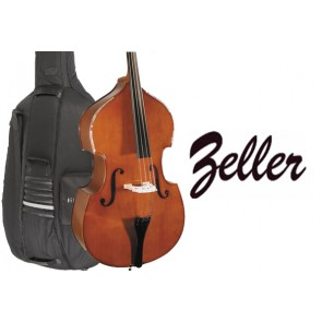 Zeller 1434OFH Student 1/10 Size(Tenth Size) Double Bass Outfit