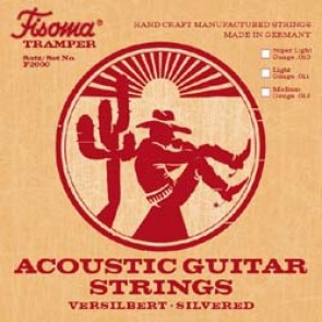 Lenzner FISOMA Acoustic Light Guage Bronze Guitar Strings 11 to 47 - F2000