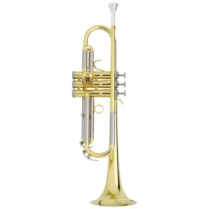 Besson 'New Standard' Silverplated Bb Trumpet Outfit  BE111-1-0