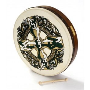 Percussion Plus PP1120 Bodhran Celtic Cross
