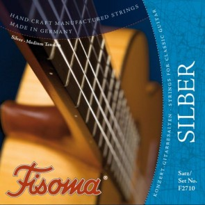 Lenzner FISOMA SUPERSOLO SILVER Classical Guitar Strings Set - Normal Tension F2710