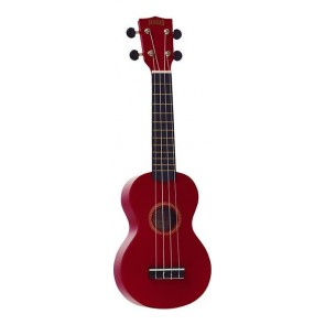 Mahalo 2511RD Rainbow Series Red Ukulele