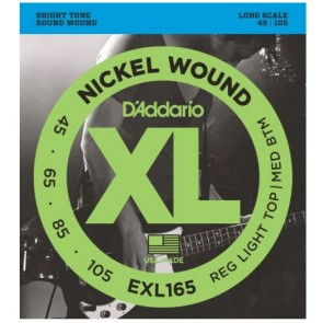 Daddario EXL165 Bass Guitar Strings