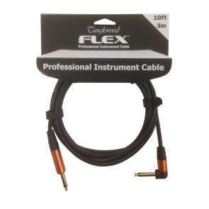 Tanglewood FX3A 3 metre Guitar Lead with Angled Jack