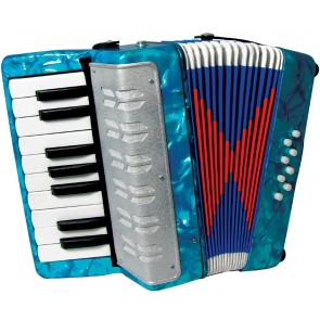 Scarlatti GR41000B 8 Bass Accordion in Green
