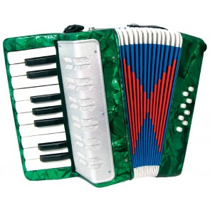 Scarlatti GR41000G 8 Bass Accordion in Green
