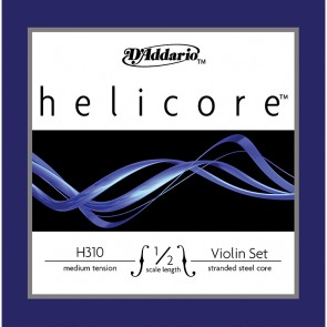Helicore H310 1/2 Size (Half Size) Violin String Set