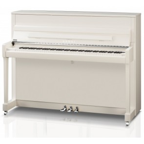 Kawai K200-WHP Upright Piano in White Polish