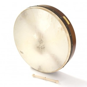 "Percussion Plus PP1113 18"" Chase Bodhran Celtic with bag"