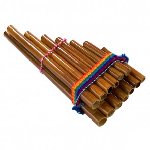 Percussion Plus PP863 Pan Flute Pipes Peruvian - 13 Note