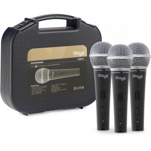 Stagg SDM50-3 Microphone Pack