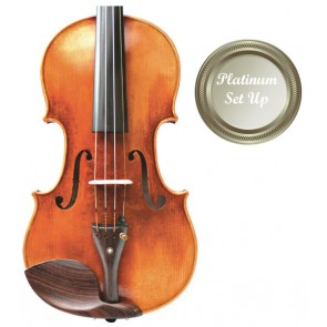 Stradivari VI004-0-44-P Heritage 4/4 Size (Full Size) Violin Outfit with Platinum Set-up