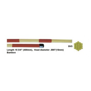 MIDAS SV3 Bamboo 19 Dowel Hot Rod - Medium Loud
