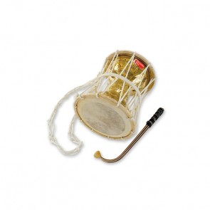 Percussion Plus PP1140 Brass African Talking Drum