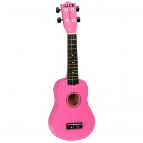 Tanglewood TWTS Soprano Ukulele in Pink