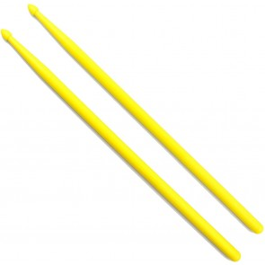 10 pairs of Yellow 5A Maple Drumsticks
